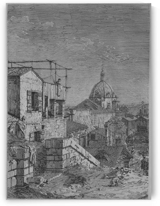 Vedute altre prese da i luoghi altre ideate by Canaletto