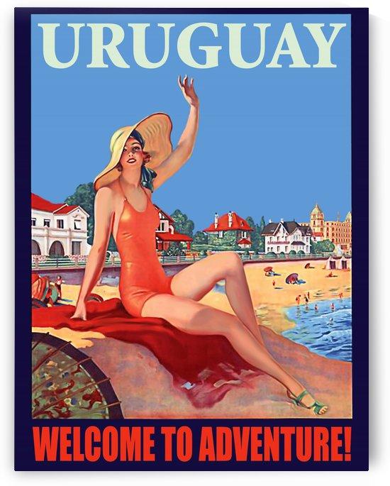 Uruguay Beach by vintagesupreme