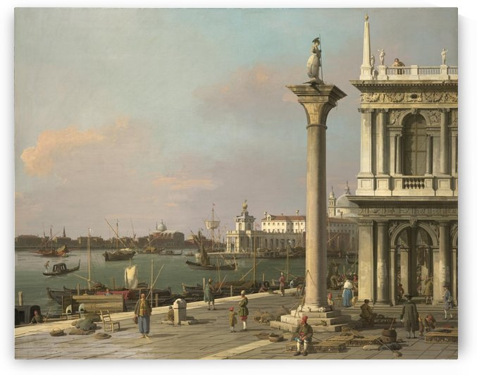 Bacino di San Marco seen from the Piazzetta by Canaletto