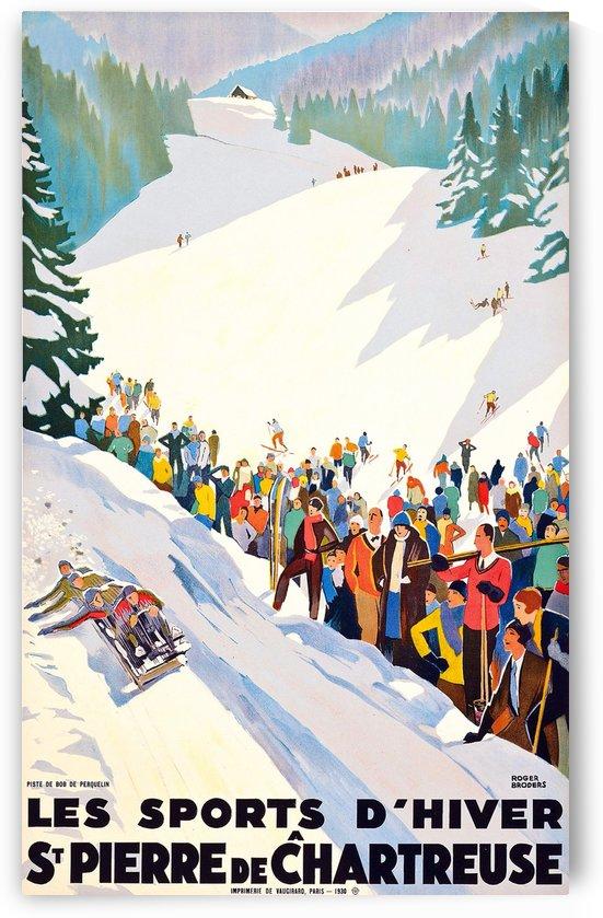 Winter Sport in France by vintagesupreme