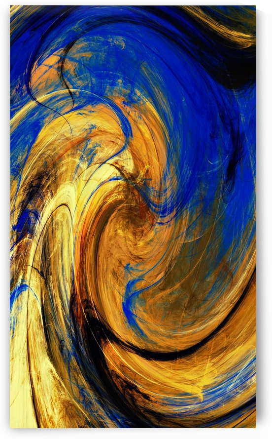 ABSTRATO FRACTAL   70X120   03B by Uillian Rius