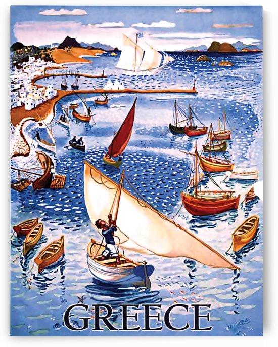 Greece Coast by vintagesupreme