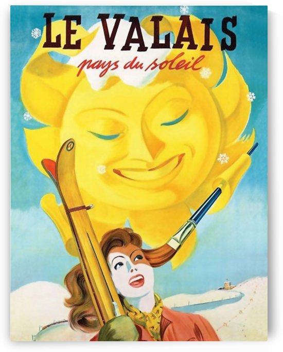 Woman under Valais Sun by vintagesupreme