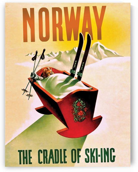 Norway the Cradle of Skiing by vintagesupreme