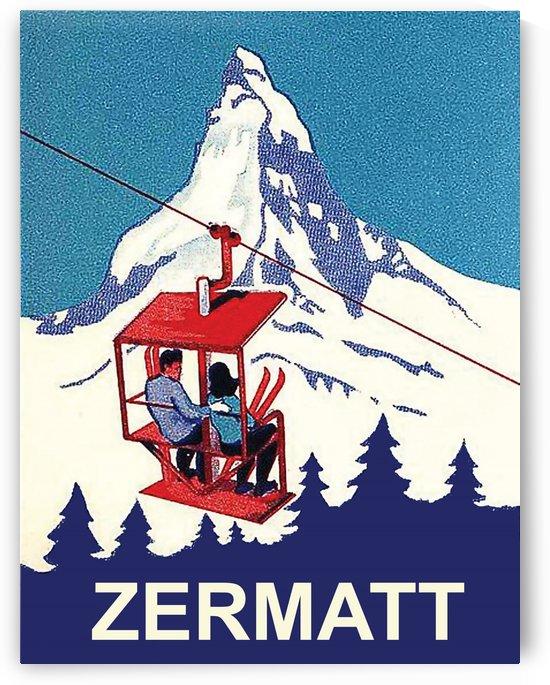 Zermatt Ski Lift by vintagesupreme