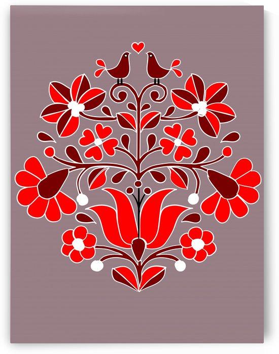 hungarian bird pattern by Chino20