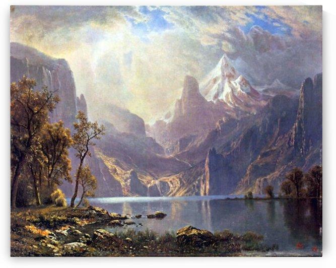 Lake Tahoe by Bierstadt by Bierstadt