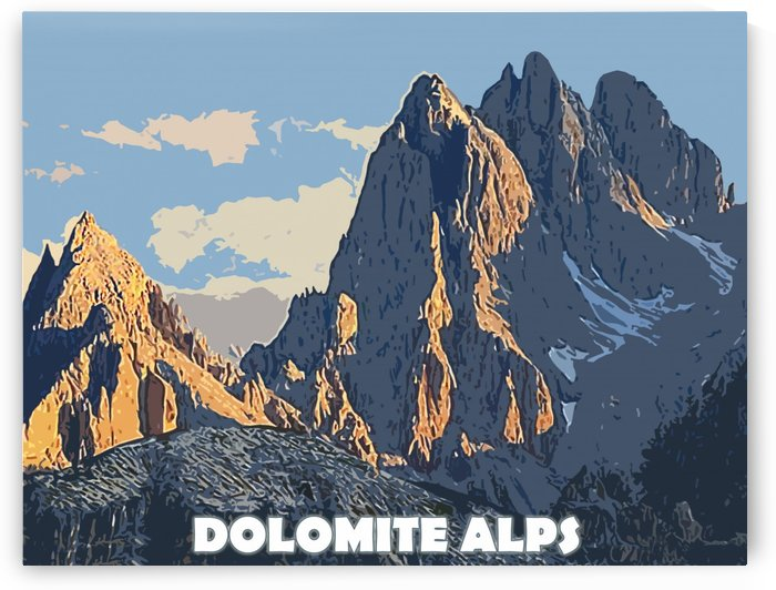 Dolomite Alps by vintagesupreme