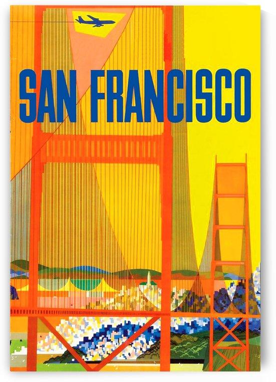 San Francisco Airplane  by vintagesupreme