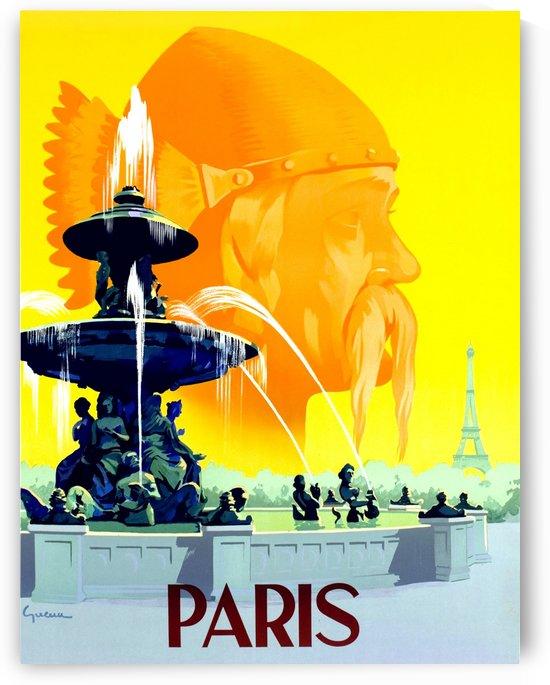 Fountain in Paris by vintagesupreme