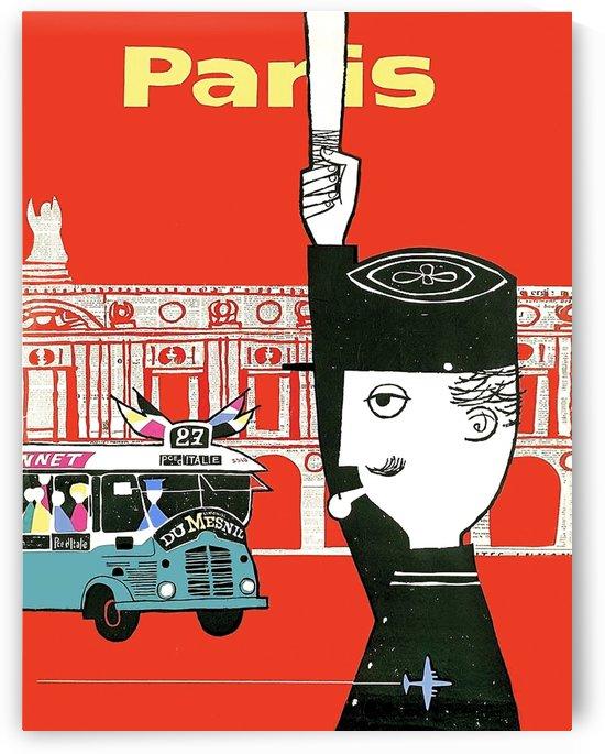 Traffic in Paris by vintagesupreme