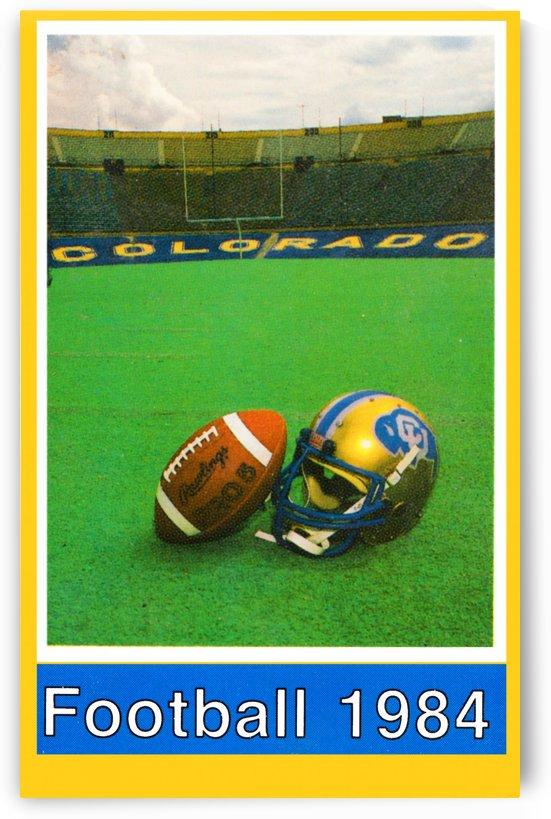 1984 colorado buffaloes football by Row One Brand
