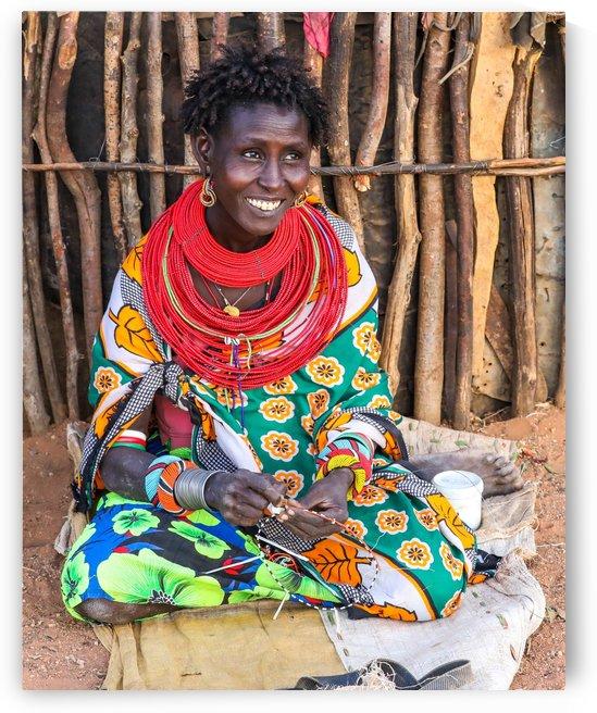 Samburu woman by ND_PHOTOGRAPHY