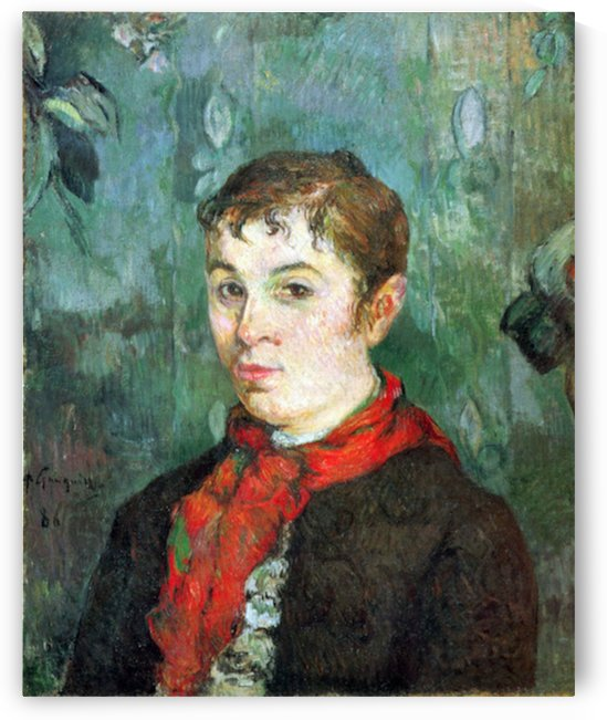 Landlord s Daughter by Gauguin by Gauguin