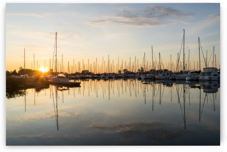 Marina Sunrise - Still Silk Symmetry by GeorgiaM