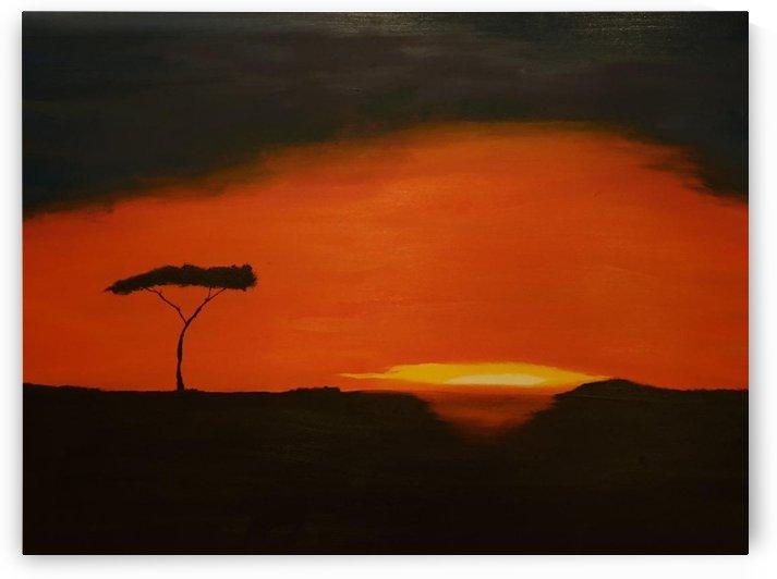 Sunrise of Serengeti by Shankar Kashyap