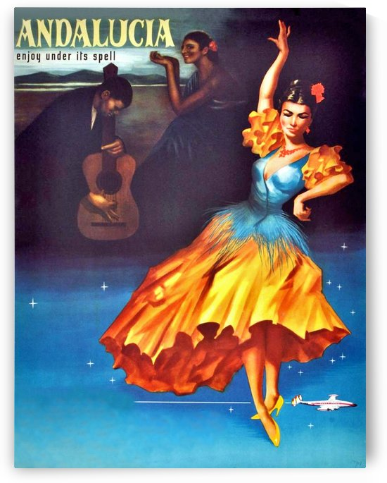 Andalucia Dancer by vintagesupreme