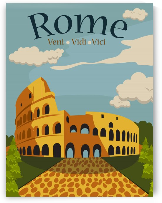 Coloseum Rome by vintagesupreme
