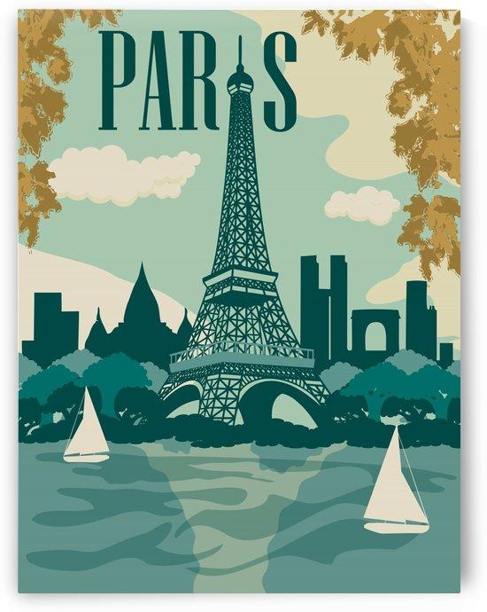 Eiffel Tower Paris by vintagesupreme