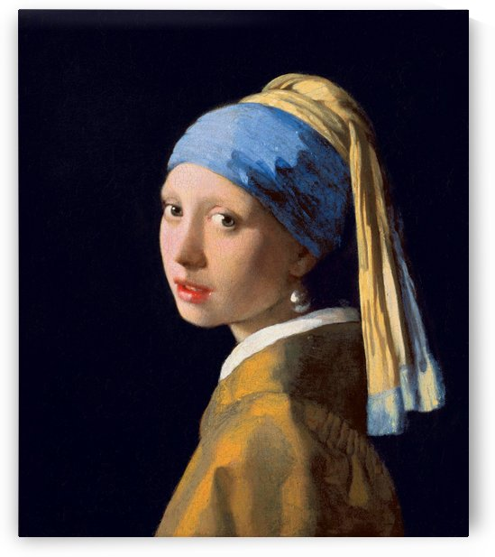 Johannes Vermeer: Girl with a Pearl Earring HD 300ppi by Stock Photography