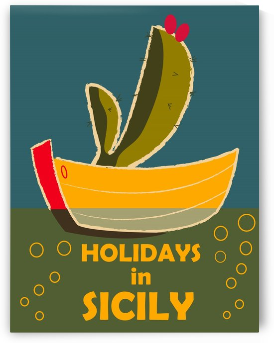 Holidays in Sicily by vintagesupreme