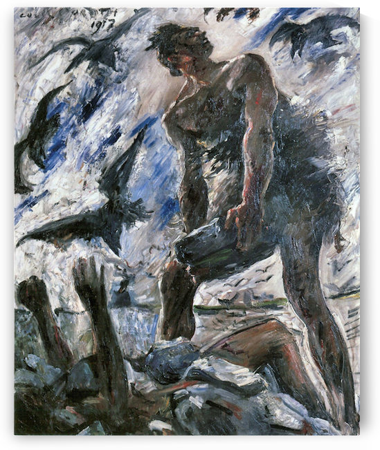 Cain by Lovis Corinth by Lovis Corinth