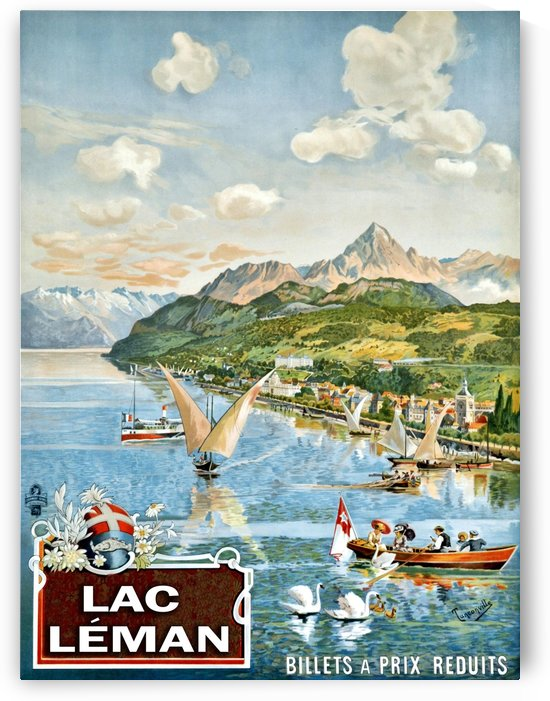 Lac Leman by vintagesupreme