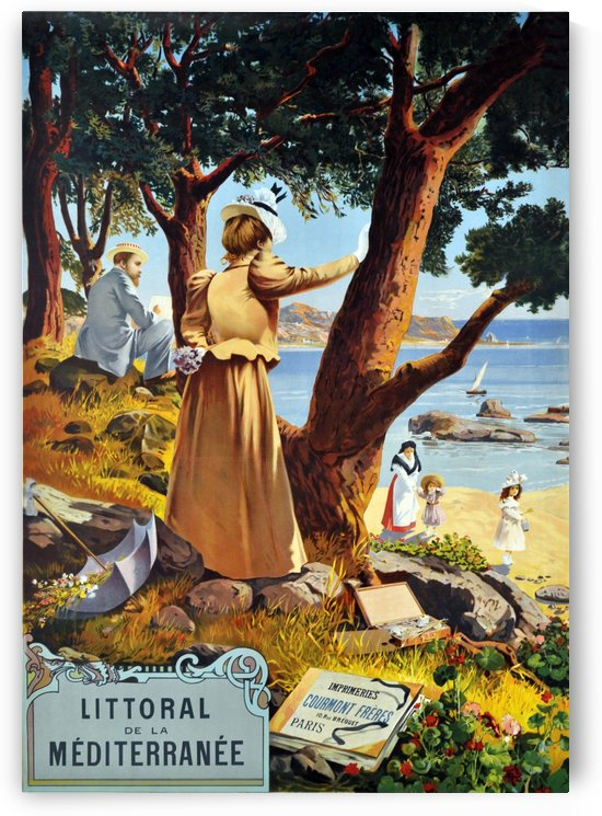 Mediterranean Coast by vintagesupreme