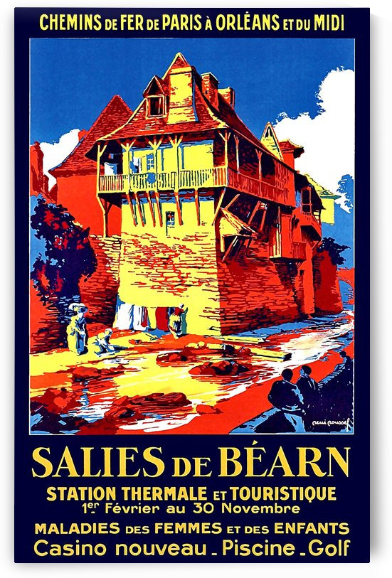Salies de Bearn by vintagesupreme