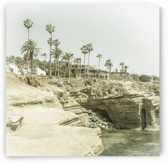 SAN DIEGO Sunset Cliffs   Vintage by Melanie Viola