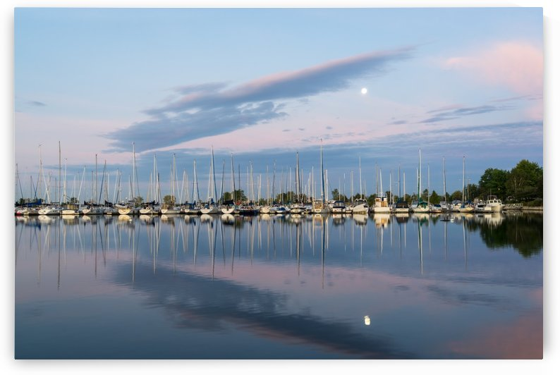 Marina Moon - Symmetrical Balance for Moonstruck Yachties and Sea Dogs by GeorgiaM