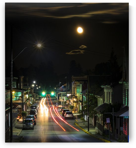 Moon Over Millheim by Heather Scully