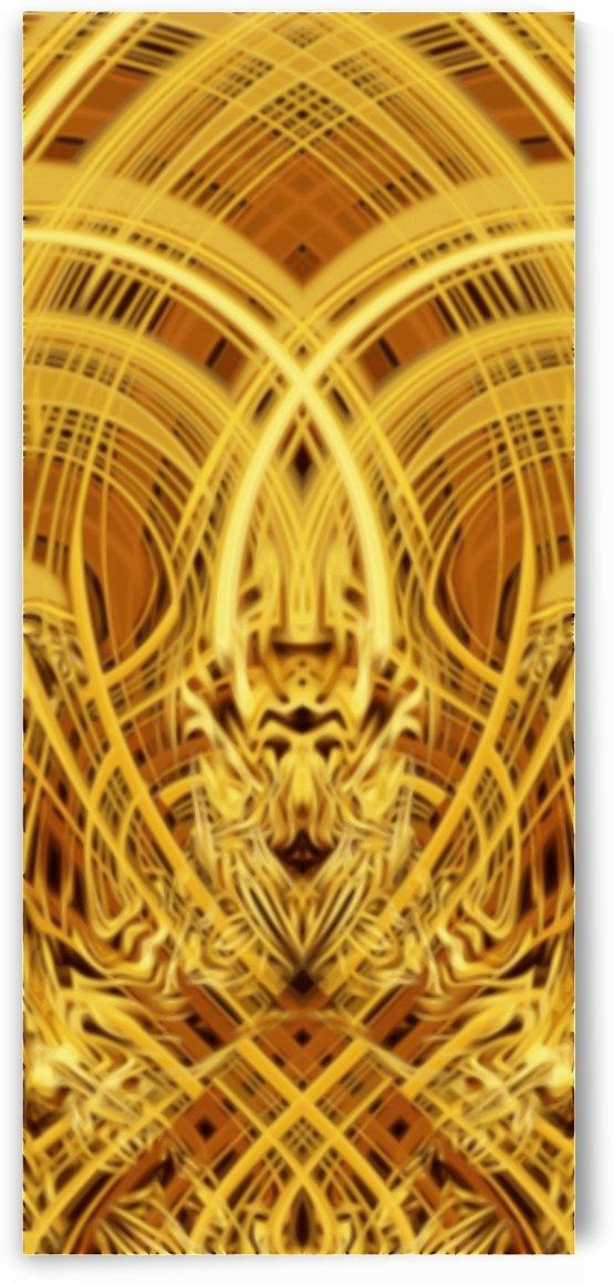 Gold Fire Dragon Head by Jaycrave Designs