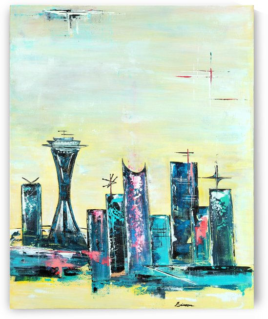Uptown Seattle  by Art Drive-In