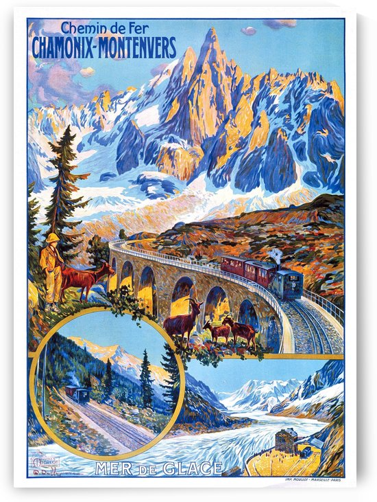 Chamonix Montenvers by vintagesupreme
