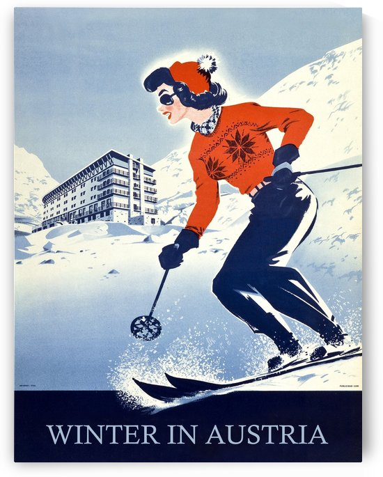 Winter in Austria by vintagesupreme