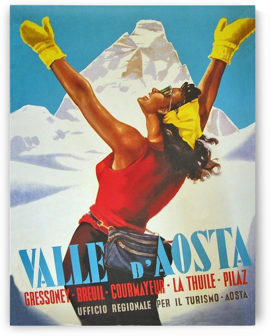 Happy Woman on Aosta Valley by vintagesupreme