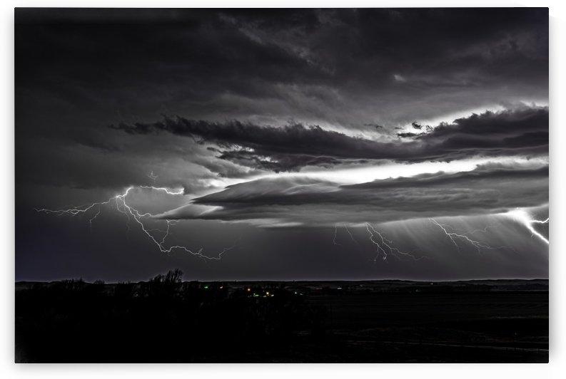 Wind Swept Lightning by Garald Horst