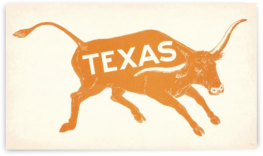 1920s Texas Longhorn Wall Art by Row One Brand