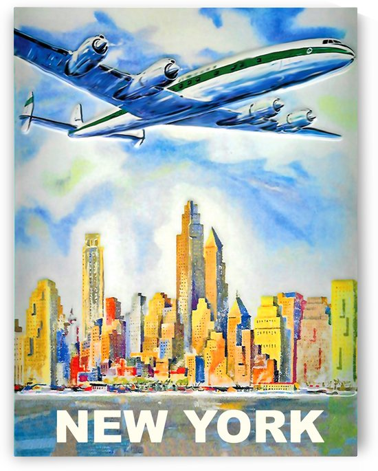 New York Airline by vintagesupreme