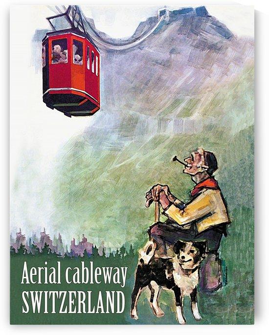 Aerial Cableway by vintagesupreme