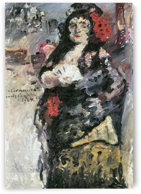 Carmencita by Lovis Corinth by Lovis Corinth