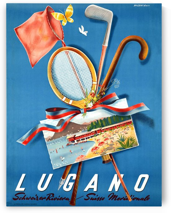 Summer in Lugano by vintagesupreme