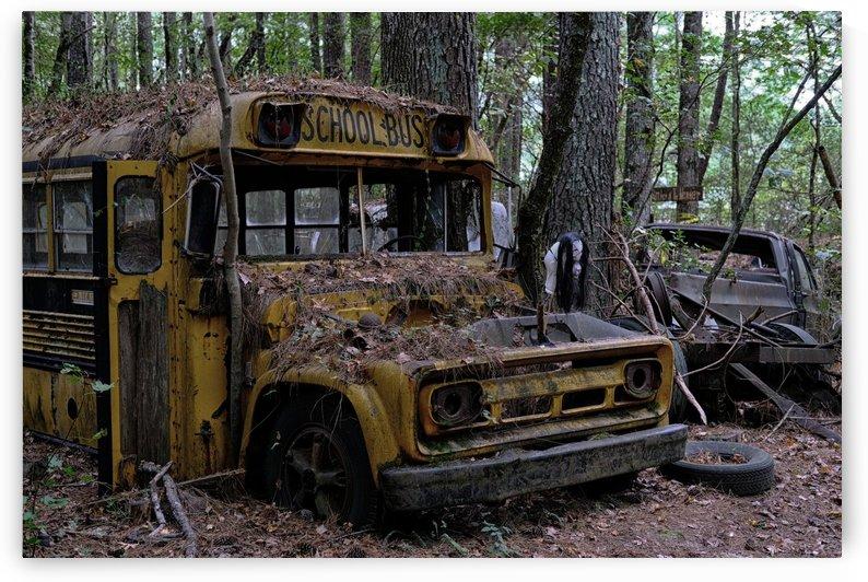Old Spooky Bus by Darryl Brooks