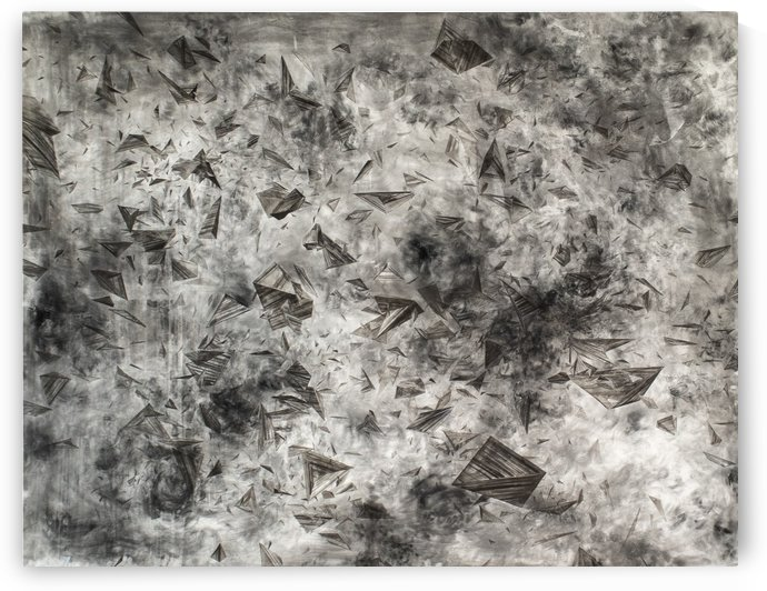 Unlimited Space and Time 198cm x 150cm 2020 by Suki Zhang