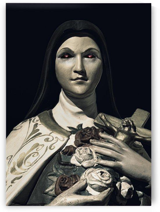 Evil Nun Dark Portrait by Daniel Ferreia Leites Ciccarino