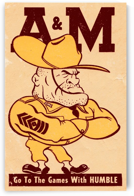 Vintage Texas A&M  by Row One Brand