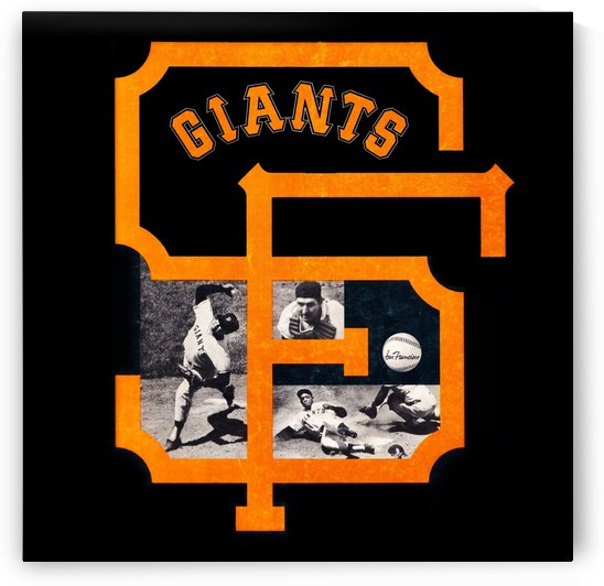 Vintage SF Giants Art by Row One Brand