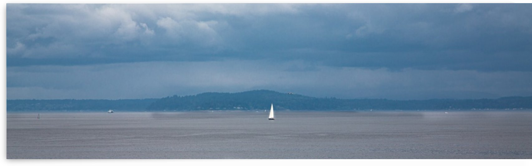 White Sail on a Grey Day_1593733841.8119 by Darryl Brooks