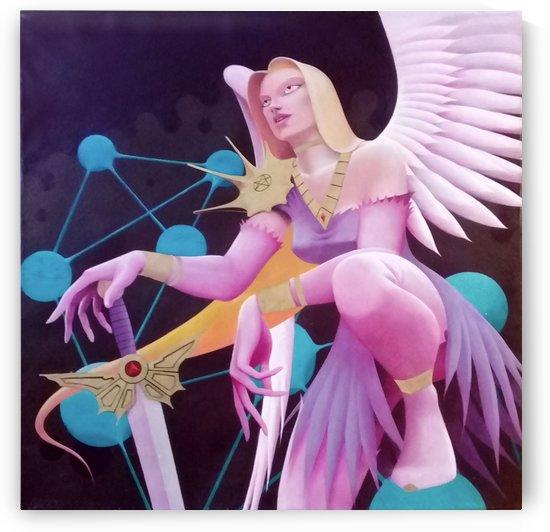 KABBALAH ANGEL by DADOART